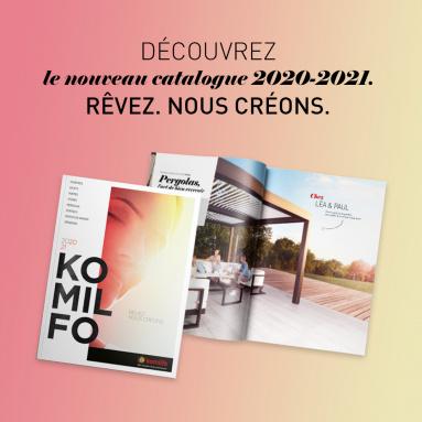 Le catalogue de tendances et d'inspirations Komilfo pour votre habitat