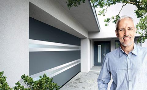 Projet d'installation d'une porte de garage motorisée