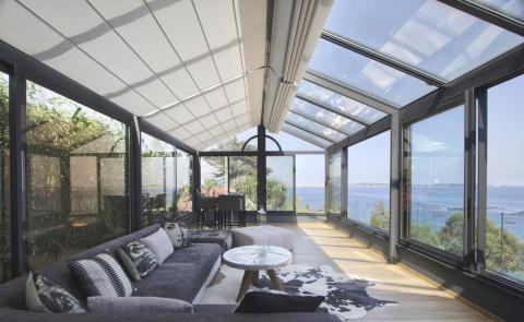 Store bateau pour votre fenêtre de toit ou véranda - Komilfo