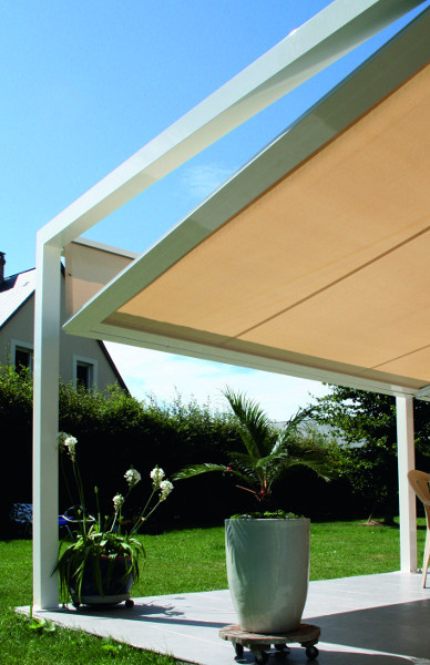 Pergola toile inclinable