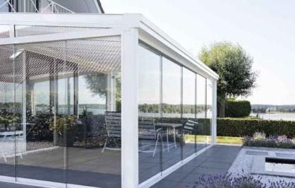 Toit de terrasse aluminium posé par nos installateurs dans les Bouches-du-Rhône