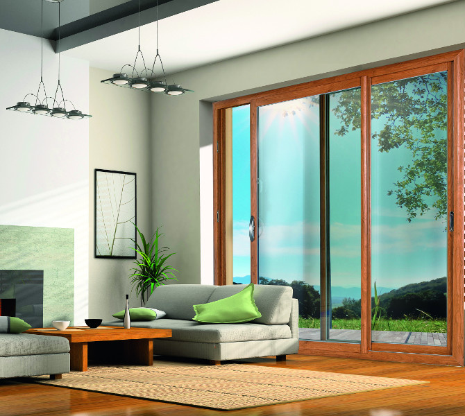 Baie coulissante PVC