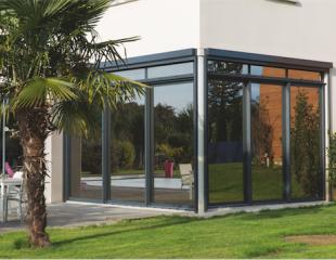 Fenêtre aluminium Komilfo Limoges