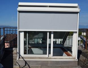 nos r alisations de stores ext rieurs et parasols dans le chablais. Black Bedroom Furniture Sets. Home Design Ideas