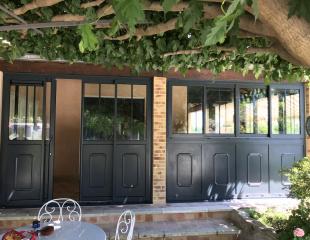 fermeture de terrasse à laroque des alberes