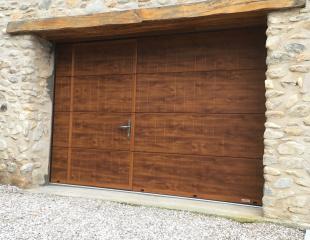 porte de garage sectionnelle