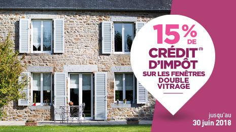 Remplacez vos fenêtres simple vitrage avec le CITE à 15% !