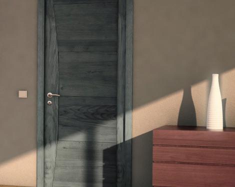Porte intérieure ardoise Paul Ceyrac