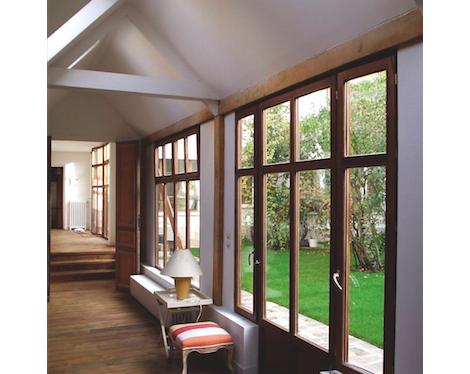 Fenêtre double en bois Atulam