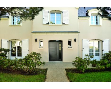 Porte d'entrée contemporaine Angers