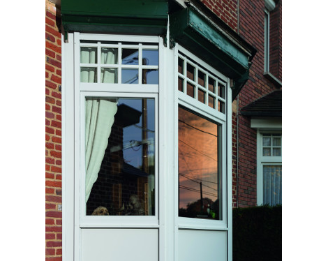 Bow window PVC