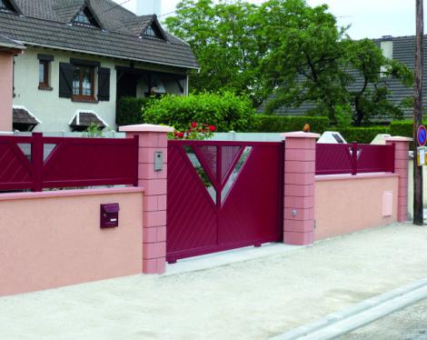 Portail et clôture design 1