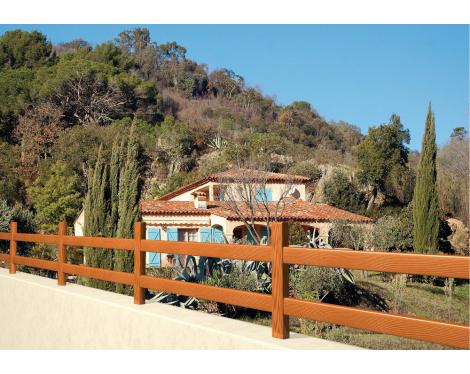 Clôture bois Provence