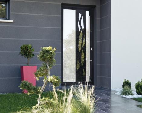 Porte aluminium design