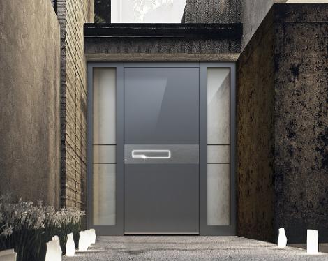 Porte d'entrée design