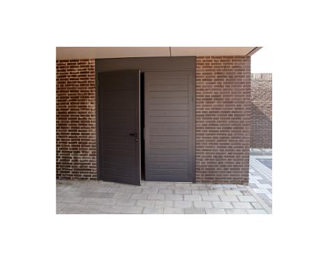 Portes De Garage Battantes Surmesure Komilfo - Porte de garage battante