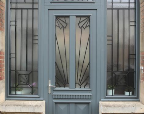 Portes d 39 entr e traditionnelles komilfo for Realisation des portes logiques avec des diodes