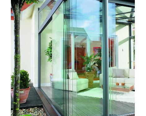 Angle oasis de verre