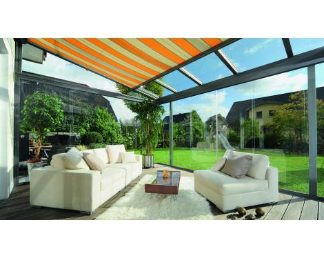 Store de toiture oasis de verre