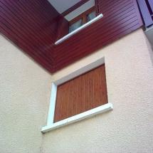 Persienne aluminium evian bernex decor bois immeuble