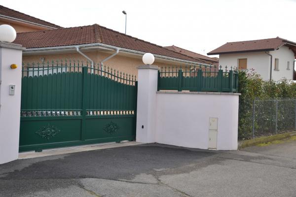 douvaine cloture portail aluminium traditionnel horizal