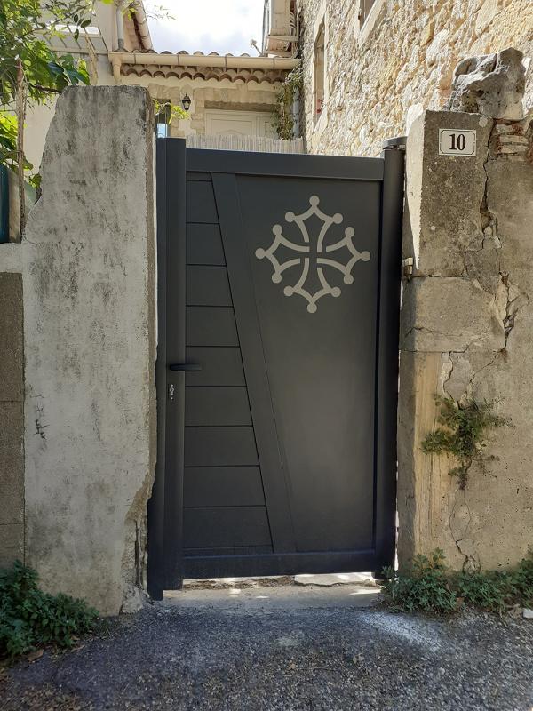Installation d'un portail à St Dezery