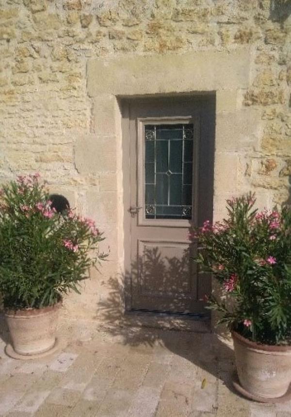 Porte d'entrée aluminium à Poitiers - Huguet Thibault - Komilfo