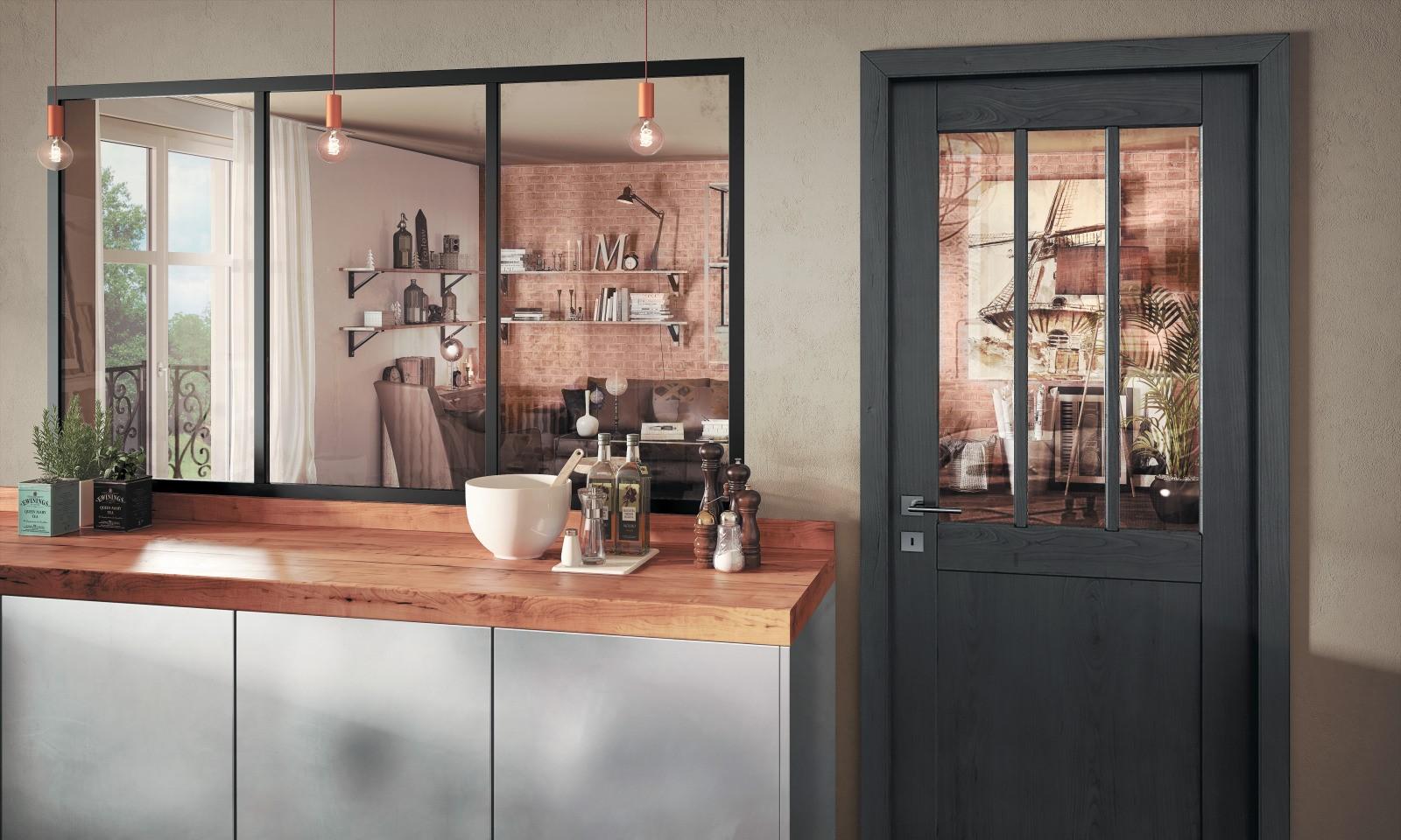 Porte Verriere Interieure Occasion un style industriel pour votre maison | komilfo