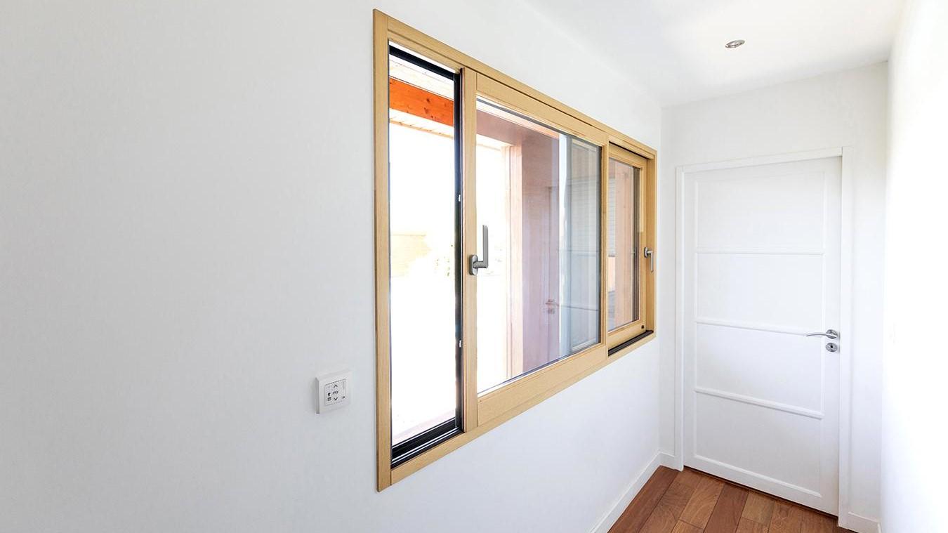 Combien Coute Une Baie Vitrée A Galandage fenêtre et menuiserie mixte sur-mesure - bois, alu, pvc
