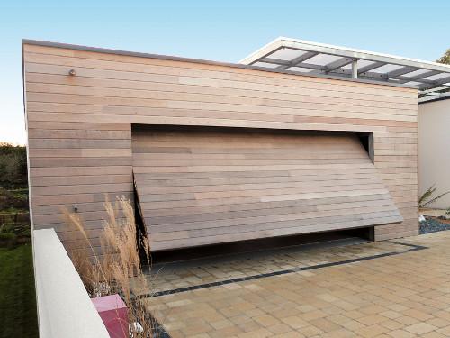Portes De Garage Basculantes Sur Mesure Bois Pvc Alu Acier