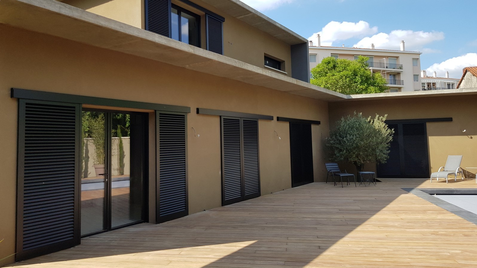 Couleur Volet En Provence volet coulissant sur-mesure - alu, pvc, bois | komilfo