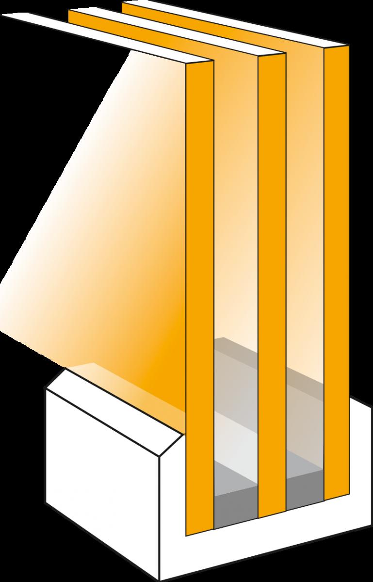 Fenetre triple vitrage phonique for Double vitrage phonique