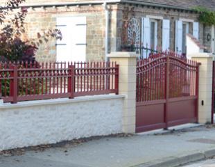 Portails et clôtures classiques
