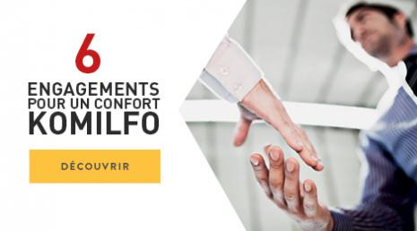 Les 6 engagements Komilfo