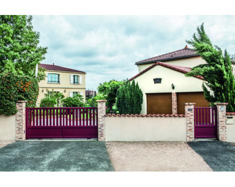 Portail et clôture contemporains Clermont